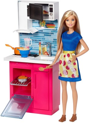 Barbie Kitchen Doll