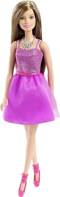 Barbie Glitz Purple Dress