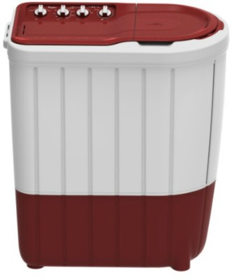 Whirlpool 7 kg Semi Automatic Top Load Washing Machine Red, White