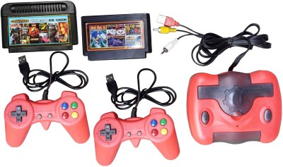 VK MART CG-0074 8 BIt USB TV Video Game with Sonic, Snow Bros, Tennis, Star Force, Bomber Man, Fire Dragon And [Car Party Game Cartridges]