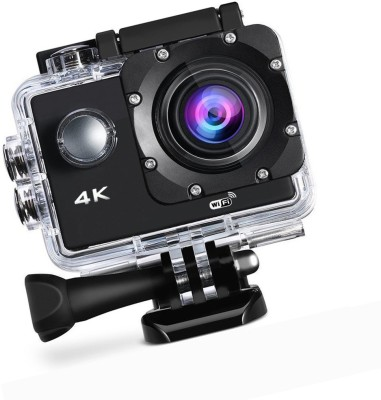 ALONZO 4k Acton Camera 4K Wifi Action Camera Ultra HD 100Feet Waterproof Sport Camera 2 Inch LCD Screen 16MP 170 Degree Wide Angle Rechargeable 900mAh Batteries Sports and Action Camera