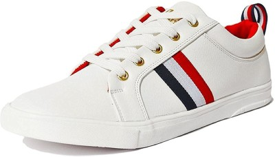 Deals4you Men's White Sneakers shoes Sneakers For Men