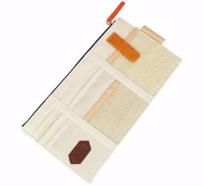 Jadebin Car Sun Visor Storage Point Pocket Documents Organizer, Mobile Holder, Tablet Holder, Credit Card & Visiting Card Holder Bag