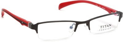 Titan Half Rim Rectangle Frame