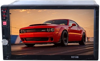 Auto Garh 7Inch Double Din Touch Screen with Bluetooth Rear View Camera Support Remote Control Without Camera Car Stereo