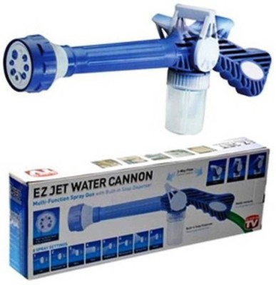 Zeom Ez Jet Water Cannon - 8 In 1 Turbo Water Spray Gun For Gardening, Car Wash & Home Cleaning Ultra High Pressure Washer Ultra High Pressure Washer