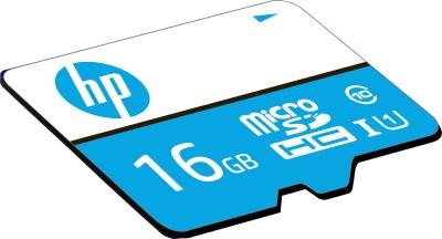 HP U1 16 GB MicroSDHC Class 10 100 Mbps  Memory Card