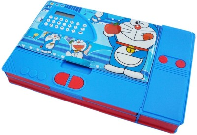 Toyvala Doraemon Doraemon Art Plastic Pencil Box