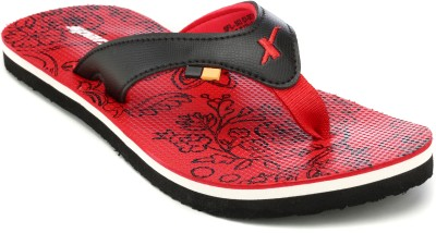 Sparx Women SFL-503 Black Red Slippers