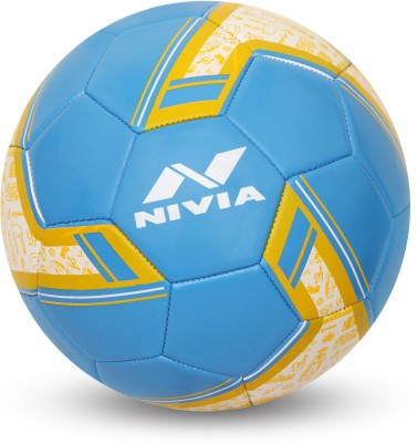 Nivia SPINNER MACHINE STITCHED FOOTBALL (ARGENTINA ) Football - Size: 5