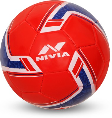 Nivia SPINNER MACHINE STITCHED FOOTBALL (ENGLAND) Football - Size: 5