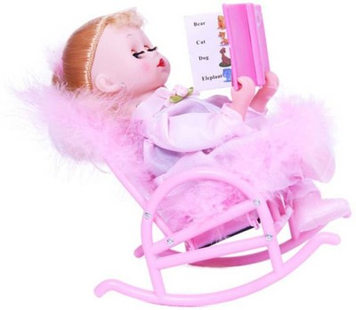 TALKING GANESHA musical book reading doll for kids (pink)