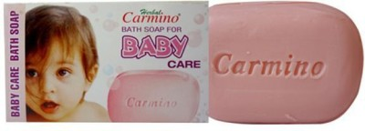Carmino Bath Soap for Baby Care [Pack of 6] [450gms, 75gX6]