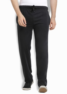 Billion Perfect Fit Solid Men Black Track Pants