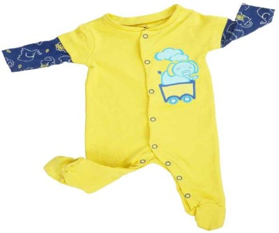MeeMee Baby Boys & Baby Girls Yellow Bodysuit