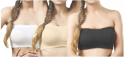 RR Accessories byRR ACCESSORIES BANGALORE RR ACCESSORIES Women Tube Lightly Padded Bra
