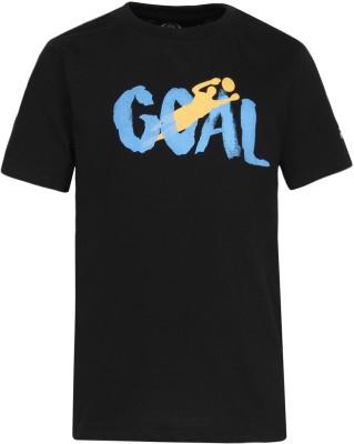FIFA Boys Graphic Print Cotton Blend T Shirt