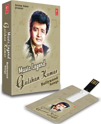 MUSIC CARD MUSIC LEGEND GULSHAN KUMAR BOLLYWOOD SONGS Pendrive Standard Edition
