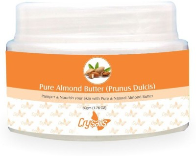 Crysalis Almond Butter (Prunus Dulcis) Pure And Natural For Skin Care