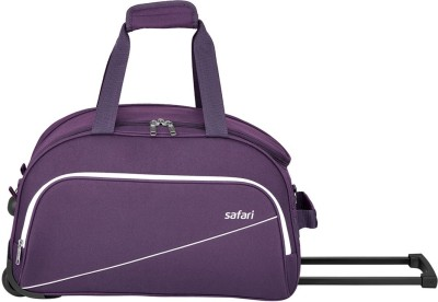 Safari 55 inch/139 cm PEP 55 RDFL PURPLE TROLLEY DUFFEL BAG Duffel Strolley Bag
