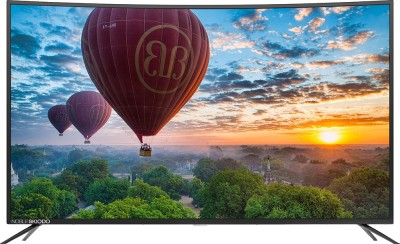 Noble Skiodo 140cm (55 inch) Ultra HD (4K) Curved LED Smart TV