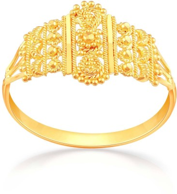 Malabar Gold and Diamonds RGCOVM0012 22kt Yellow Gold ring