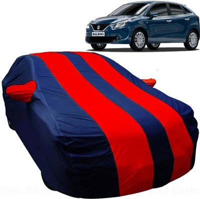 UK Blue Car Cover For Maruti Suzuki Baleno (With Mirror Pockets)