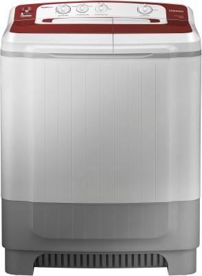 Samsung 8 kg Semi Automatic Top Load Washing Machine Grey, Maroon