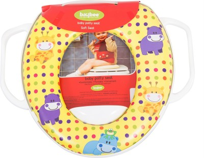 Baybee Portable Potty Training Seat | Toddler Toilet Training Soft Potty Seat Ring | Fits Round and Oval Toilets for Boys and Girls Potty Seat