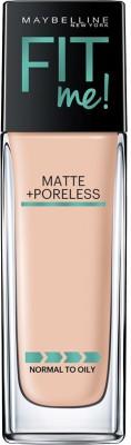 Maybelline Fit me matte+poreless Foundation