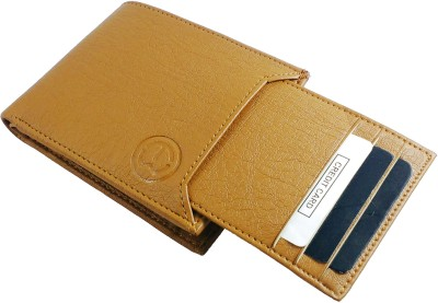 TnW Men Beige Artificial Leather Wallet
