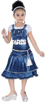 Arshia Fashions Girls Party(Festive) Top Dress