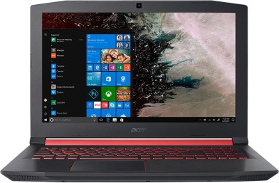 Acer Nitro 5 Core i5 8th Gen - (8 GB + 16 GB Optane/1 TB HDD/Windows 10 Home/4 GB Graphics) AN515-52 Gaming Laptop