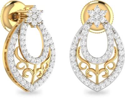PC Jeweller The Theodora Yellow Gold 22kt Stud Earring