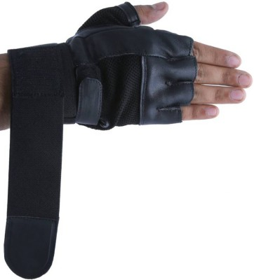 DreamPalace India GYM GLOVES, Gloves for gym, Leather Gym Gloves, Wrist Support, Workout Gloves, Fitness Gloves, Sport Gloves, Palm Support, Exercise Glove Gym & Fitness Gloves