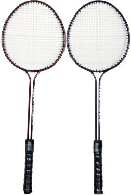 Neulife Monika Double Rods Multicolor Strung Badminton Racquet