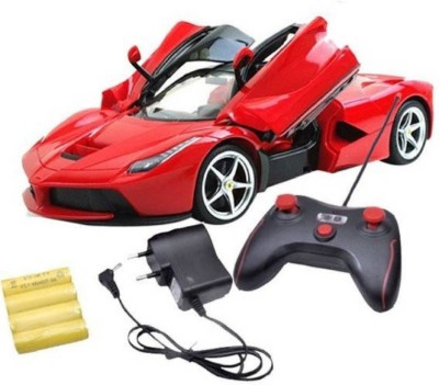 P17 collection Ferrari Toy Car_507 (Red)