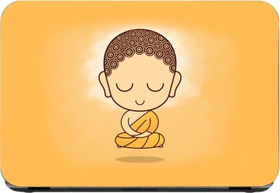 Flipkart SmartBuy Baby Meditating Buddha 3m or avery imported vinyl woith lamination Laptop Decal 15.6