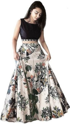 shelvinzas Printed Semi Stitched Lehenga Choli