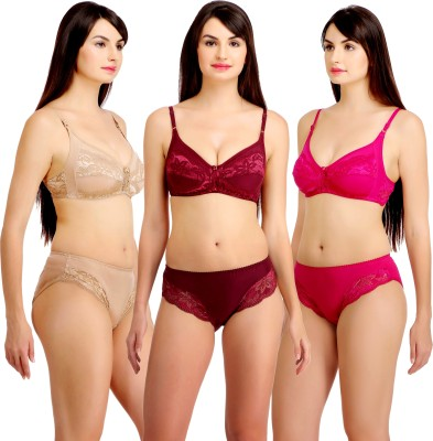 Fashion Comfortz Embroidered Women Swimsuit