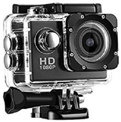 Rewy A CAmera 1080p 12MP Sports Waterproof Camera with Micro Sd Card Slot and Multi Language Action Video Waterproof Camera up to 30M 2 inch LCD Super Wide Angle - Assorted Colour Sports and Action Camera