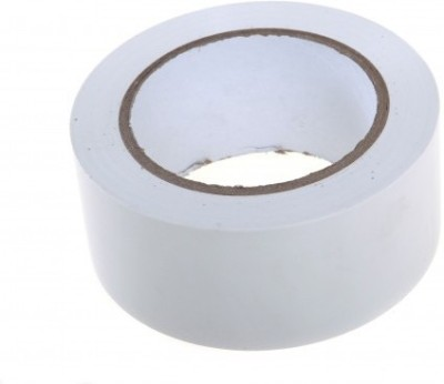 True-Ally White Floor Marking Tape 2 inch / 48mm x 25 mtr Adhesive
