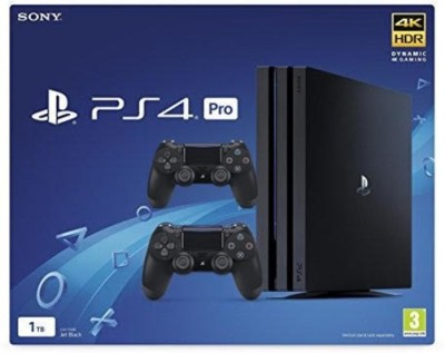 Sony Ps4 Pro with extra Controller 1TB GB with No