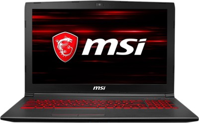 MSI GV Series Core i7 8th Gen - (16 GB/1 TB HDD/128 GB SSD/Windows 10 Home/6 GB Graphics) GV62 8RE-050IN Gaming Laptop