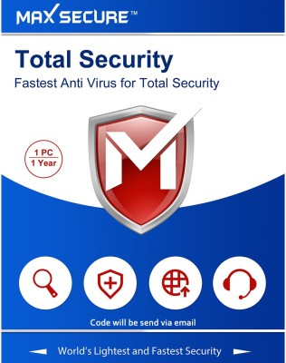 Max Secure 1 User 1 Year Total Security Activation Code