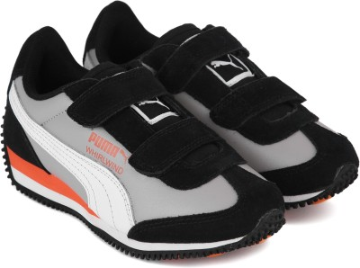 Puma Boys & Girls Velcro Running Shoes