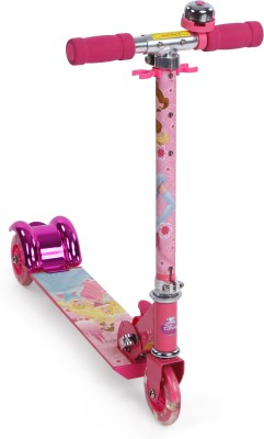 My Baby Excel Disney Princess Fun & Shiny 3 Wheel Scooter Pink
