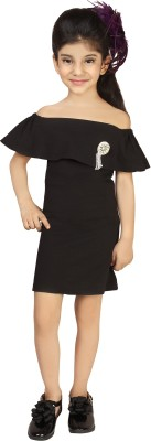 Addyvero Girls Midi/Knee Length Party Dress