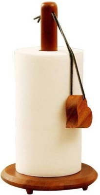 beyond collection 2 Compartments wood Wooden tissue Roll Holder