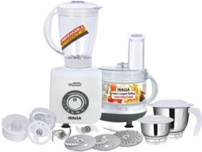Inalsa Maxie Marvel 800 W Food Processor